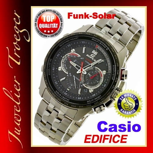 casio edifice herren funk solar uhr eqw m710db 1a1er neu. Black Bedroom Furniture Sets. Home Design Ideas